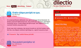 Dilectio free WordPress Theme